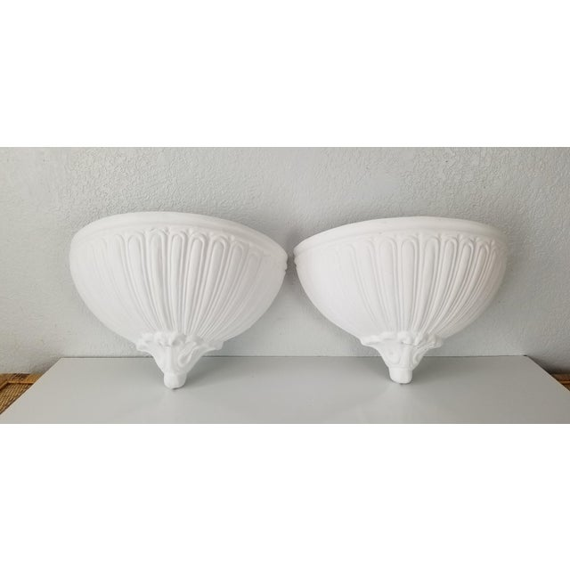 Italian Vintage Wall Planters - a Pair For Sale - Image 11 of 11