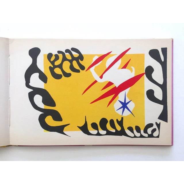 "Henri Matisse Henri Matisse "" Jazz "" Rare 1st Edition Vintage 1960 Lithograph Print Museum of Modern Art Collector's Hardcover Art Book For Sale - Image 4 of 13"