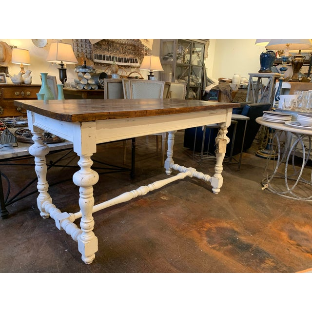1910s French Farm Table For Sale - Image 12 of 13