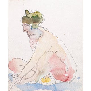 Victor DI Gesu Seated Nude For Sale