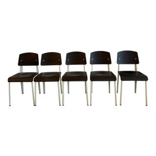 Prouve Standard Chairs - Set of 5 For Sale