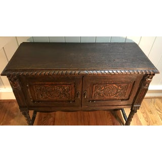 20th Century French Carved Sideboard Server Cabinet Preview