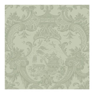 Cole & Son Chippendale China Wallpaper Roll - Olive For Sale
