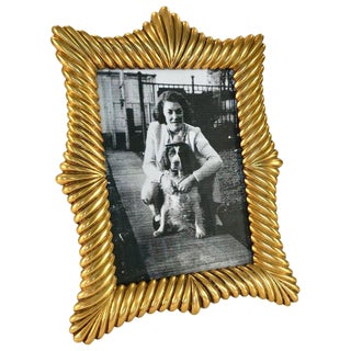 French Doré Gilt Bronze Picture Frame For Sale