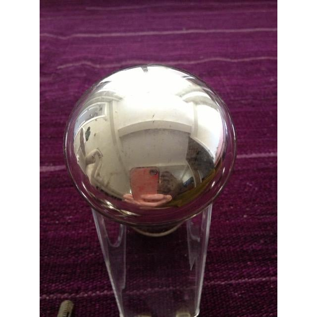 Blown Glass Mercury Glass Door Knobs - 4 Sets For Sale - Image 7 of 11