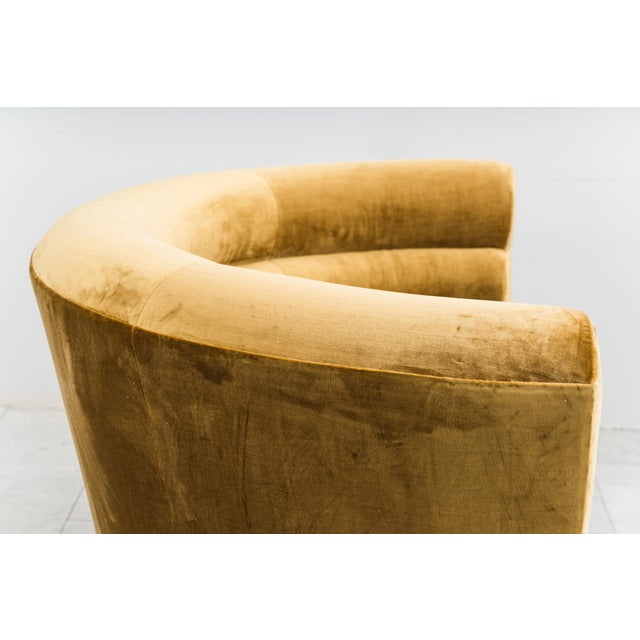 Mid-Century Modern Todd Merrill Custom Originals, the Sugar Bowl Settee For Sale - Image 3 of 9