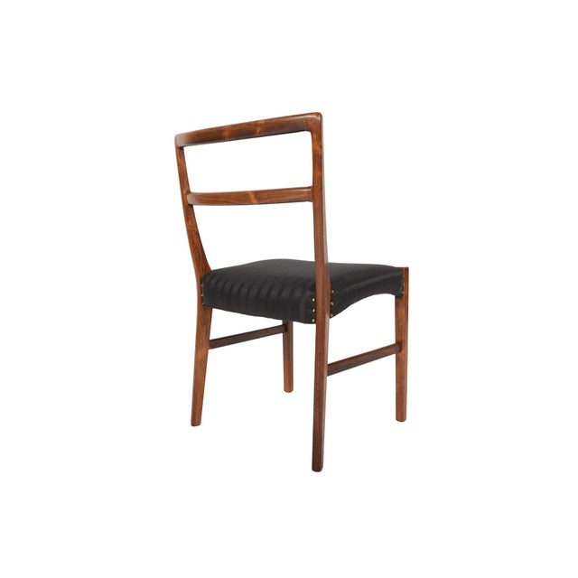 Harry Østergaar Rosewood Dining Chairs - Set of 6 - Image 5 of 10