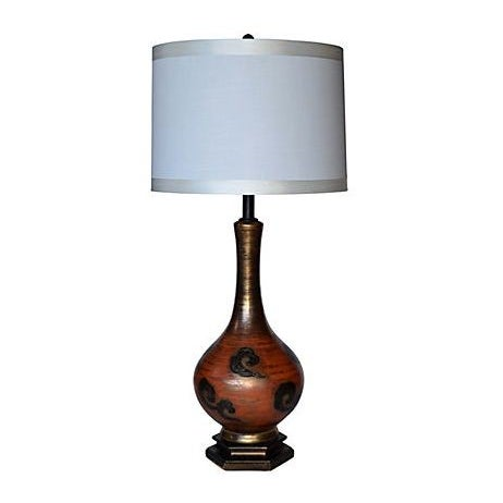 1950s Modernist Ceramic Lamp - Image 1 of 3