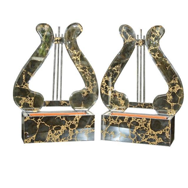 Harp Planter Sconces - A Pair For Sale