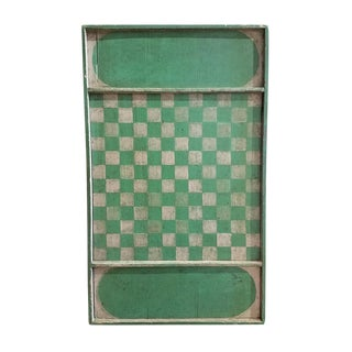 Late 19th Century Vintage Painted American Folk Art Game Board For Sale