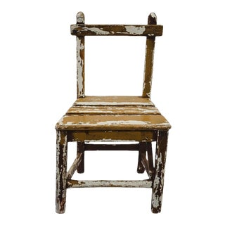 Vintage Child's Chair For Sale