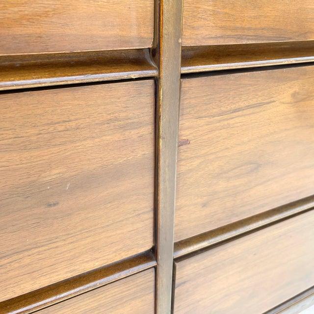 Mid-Century Modern Six Drawer Dresser For Sale - Image 9 of 13