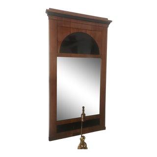 Biedermeier Fruitwood Pier Mirror, 19th Century For Sale