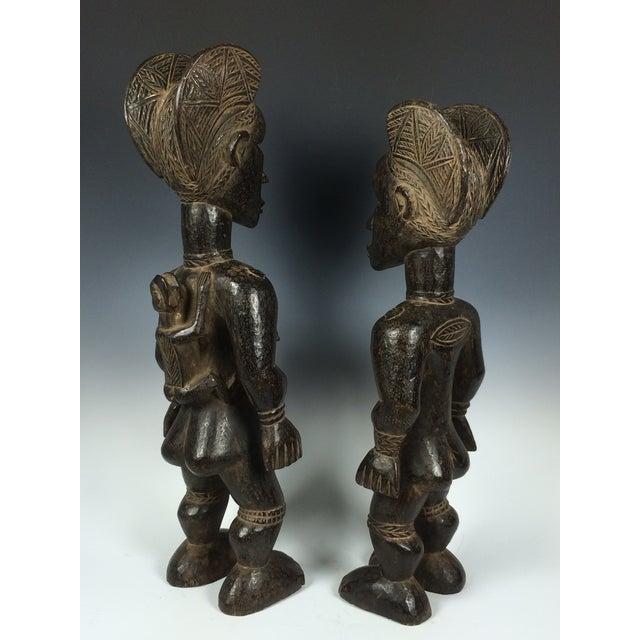 Ivory Coast African Dan Statues - A Par - Image 5 of 11