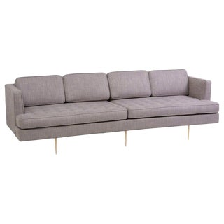 Newly Upholstered Sofa 4906 by Edward Wormley for Dunbar, Us For Sale