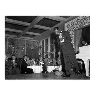 Nat 'King' Cole performing at Ciro's 1954