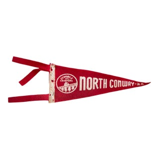 North Conway Felt Flag For Sale