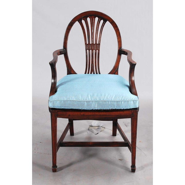 Wood 19th Century Rosewood Armchairs - a Pair For Sale - Image 7 of 9