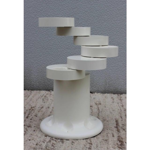 Mid-Century Modern Giancarlo Piretti Pluvium Umbrella Stand For Sale - Image 3 of 9