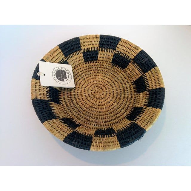 Handwoven African Catch All Boho Chic Basket - Image 3 of 8