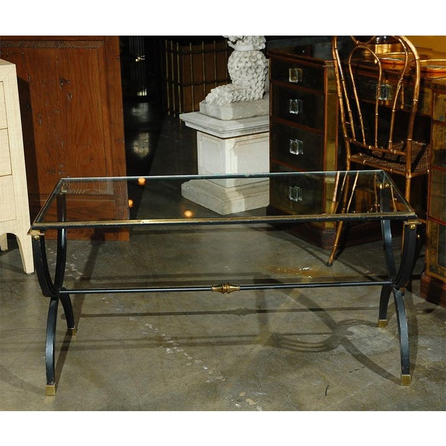 Raymond Subes Attributed French Cocktail Table For Sale In Los Angeles - Image 6 of 9