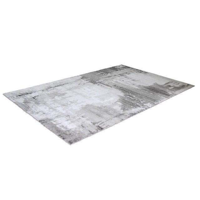 Turkish Gray Abstract Rug 5'3''x 7'7'' - Image 3 of 4