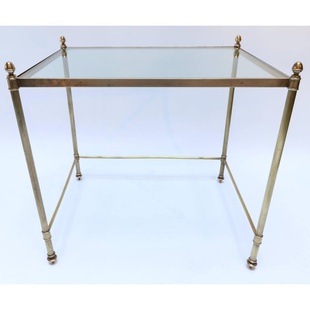 1960s 1960s Italian Brass Nesting Tables-Set of 3 For Sale - Image 5 of 10