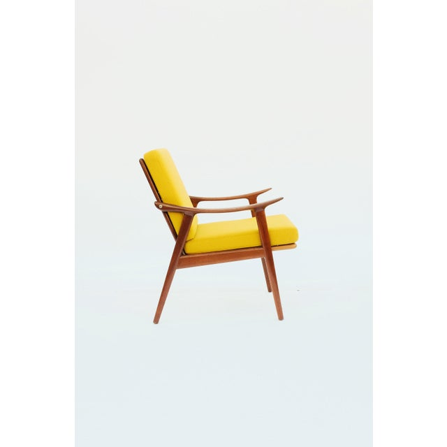1950s Danish Modern Fredrik A. Keyser for Vantne Lenestolfabrikk Lounge Chair For Sale - Image 11 of 11
