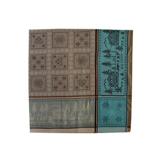 French Chalet Tablecloth For Sale