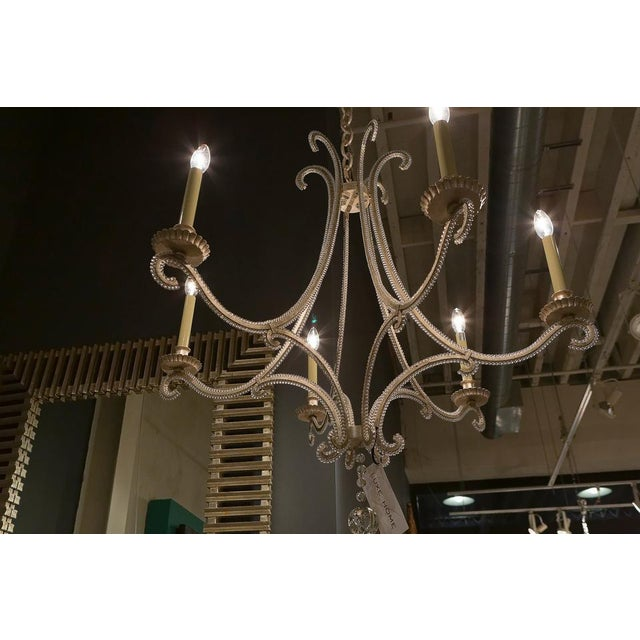 American Classical Visual Comfort Chc1550 E. F. Chapman Oslo 6 Light Chandelier For Sale - Image 3 of 11