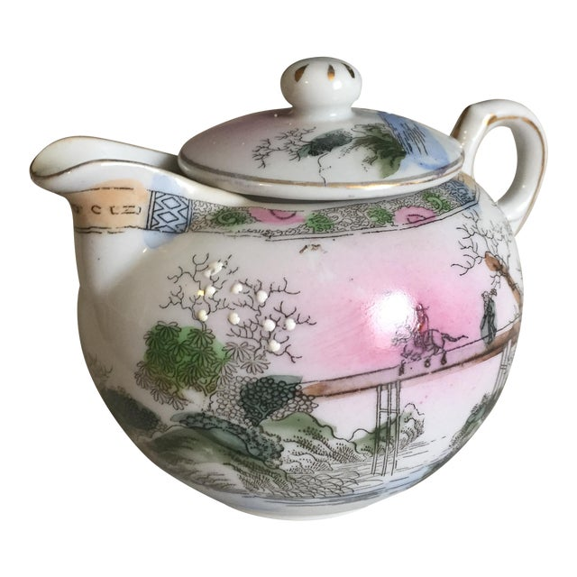 Japanese Vintage Tea Pot - Image 1 of 5