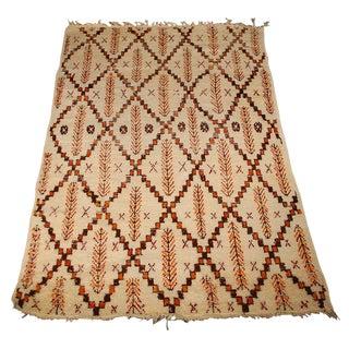 Moroccan Berber Pile Rug - 5′4″ × 7′7″