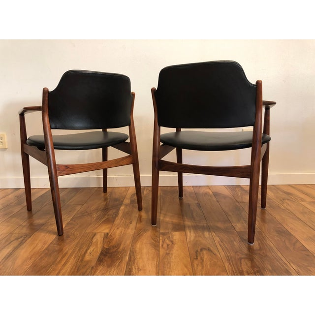Rosewood Chairs by Arne Vodder for Sibast Furniture, Made in Denmark, Set of 6 For Sale - Image 9 of 13
