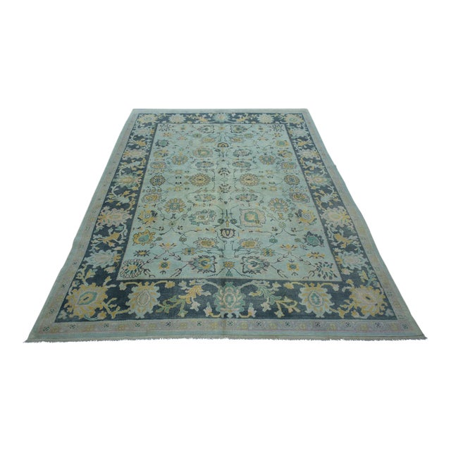 Turkish Anatolian Modern & Decorative Oushak Rug - 5′10″ × 8′ - Image 1 of 5
