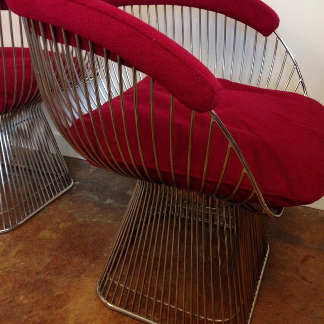 Vintage Warren Platner Style Chairs - A Pair - Image 5 of 5