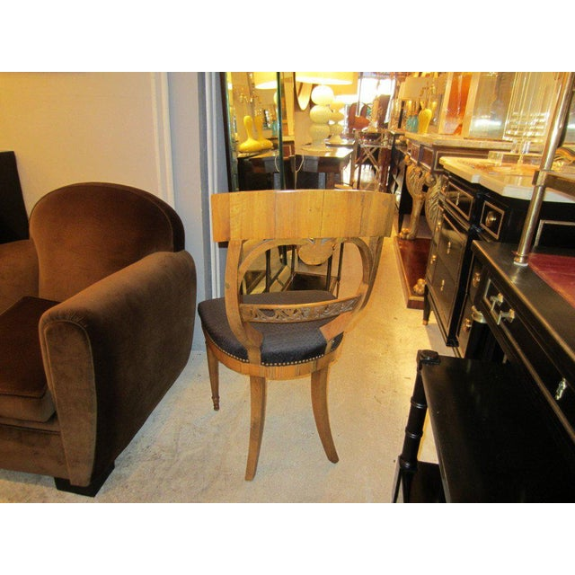 Set 4 Biedermeier Chairs