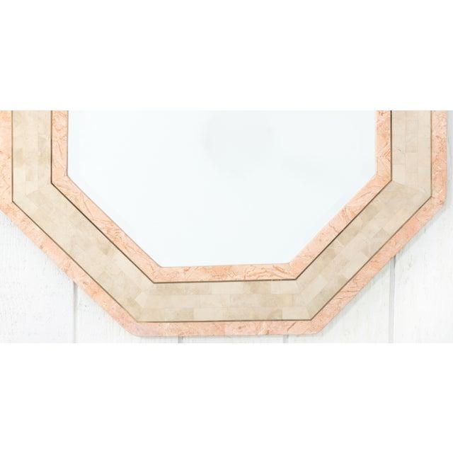Maitland-Smith Octagonal Tessellated Stone Mirror - Image 2 of 3