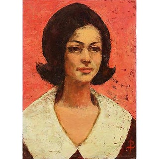 Portrait by Pearl Took, 1964 For Sale