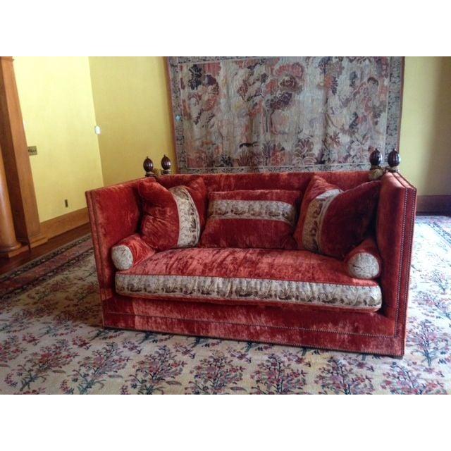 Custom Knole Sofas - a Pair - Image 2 of 4
