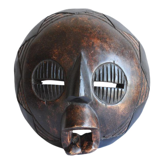 Handcarved African Mask For Sale