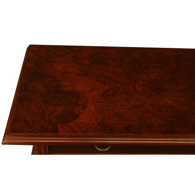 Burled Wood Dutch Bombe Chest of Drawers - Image 3 of 8