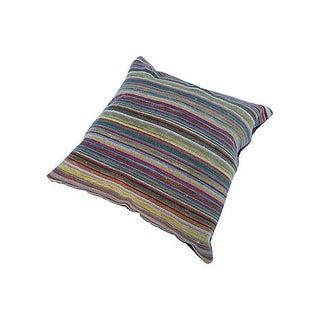 Saliha Stripe Kilim Floor Pillow For Sale