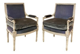 Image of French Bergere Chairs