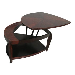 Hammary Oasis Wedge Lift Top Double Tier Coffee Table For Sale