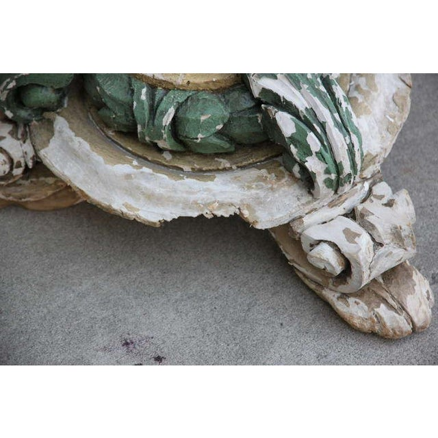 C. 1850 French Painted Torchieres - A Pair For Sale - Image 4 of 6