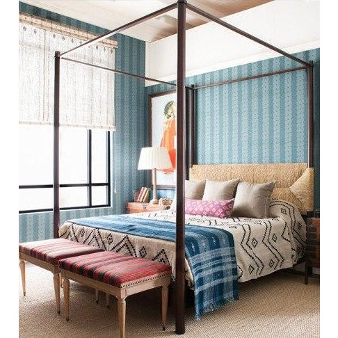 Mid-Century Modern Perriand 4 Poster Bed Queen For Sale - Image 3 of 3