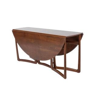 Final Markdown .> Peter Hvidt and Orla Mølgaard-Nielsen for John Stuart Drop-Leaf Table For Sale