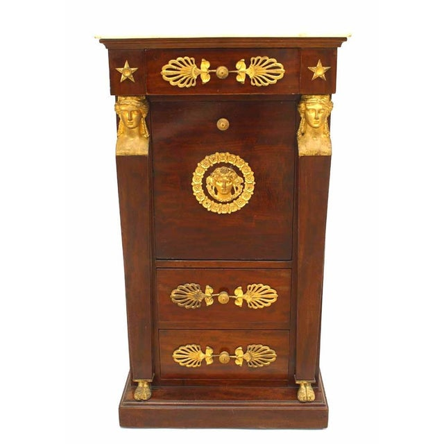 French Empire Style Small Commode For Sale In New York - Image 6 of 6