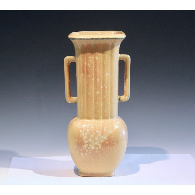 Tan Vintage Rorstrand Nylund Swedish Art Deco Pottery Old Fluted Scandinavian Gunnar For Sale - Image 8 of 10