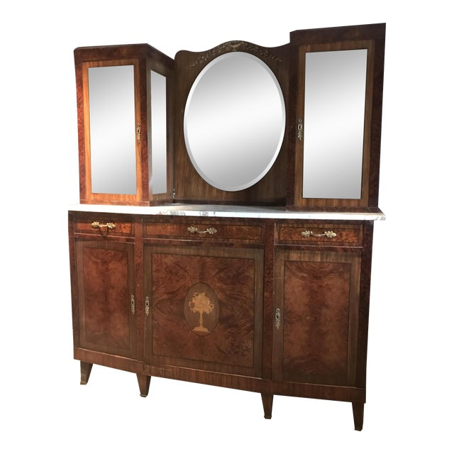 Antique French Rosewood Server - Image 1 of 5